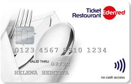 c5992de27 Stravovacia karta Ticket Restaurant® je elektronická forma papierových  stravovacích poukážok, určená na platby prostredníctvom platobných  terminálov alebo ...